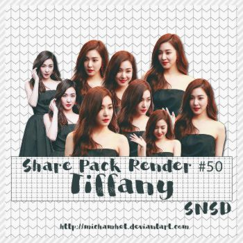 [Pack Render #50] Tiffany (SNSD) by michamhet