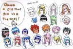 Choose the girl that you like - Fairy Tail by obako-chan97