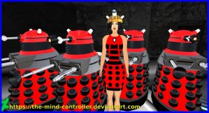 Valerie Love Serves The Daleks by The-Mind-Controller
