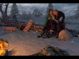 Campfire by 0Snow-White0