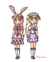 Peach and Coco by ninpeachlover