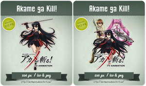 Akame ga Kill! - Anime Icon by Darklephise