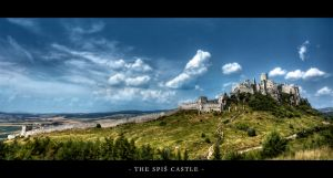 The Spis Castle by shadowiness