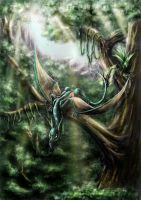 Wyvern by kawa-rimono