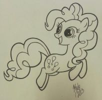 PinkiePinkie Pie - inked by Kalyandra