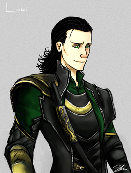 Loki The Trickster by SuppieChan