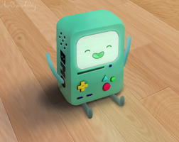 BMO yay (Daily 30) by Aurora-Alley
