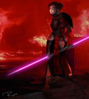 Sith in Fire by nonstoprox