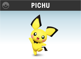 Pichu Smashified (Supporter Pack) by KryptonLion