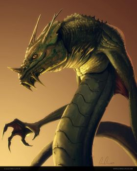 Basilisk by ChrisClaflin