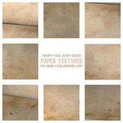 Old paper textures no. 1 by filmowe