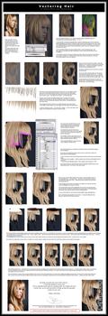 Vectoring Hair by ChewedKandi