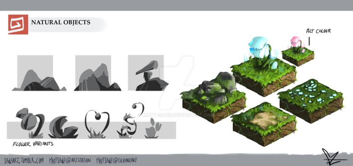 [2] Natural Objects by Matt-Sanz