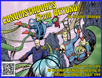 Conquistadores from Beyond, The Comic by Leeahd