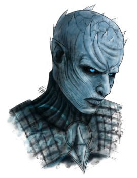The Night King Sketch [VIDEO] by Artrisy