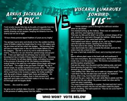 Tournament Match 2- Ark vs Vis by Dreamkeepers