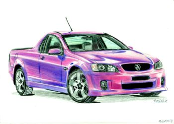 Holden Commodore UTE by CKDMotorsport