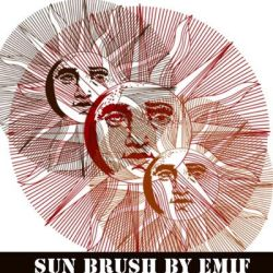 PS: Solar Face Brush by emif