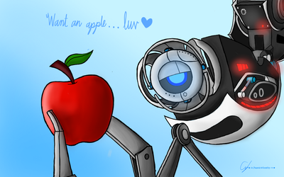 Want an apple, luv? by Tanza-Night