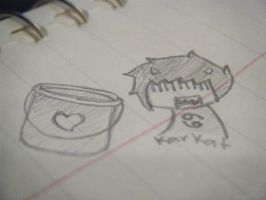 Karkat and the bucket by Hex-Sk8erGirl