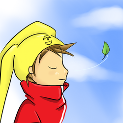 Day 5 - Tyler at peace. by redzer0fox