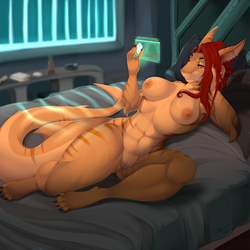 [C] Checking The News by My-Loveless