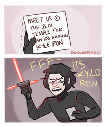 STAR WARS: MEET US AT THE JEDI TEMPLE KYLE RON by Randomsplashes