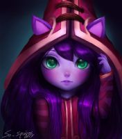 League of Legends Lulu by so-squiggly