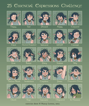 25 Shades of Amy by GreenOverGreen