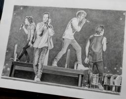 One Direction On The Road Again by NillaMustikka