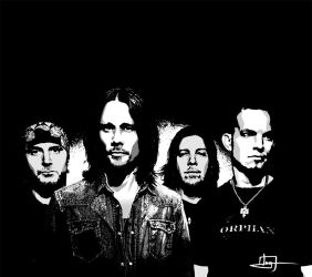 Digital Portrait 6 - Alterbridge by IvanValladares