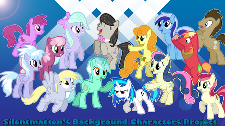 Background Characters Project Vectors by Silentmatten
