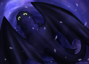 .:Toothless:. by EvilZera