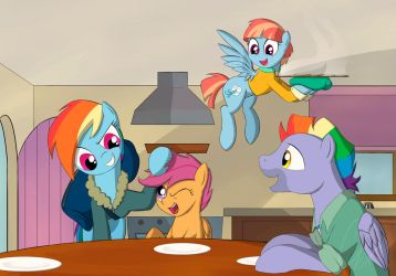 Family Lunch by TheRavenCriss