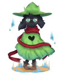 *Ralsei joined the party! by ladyevel