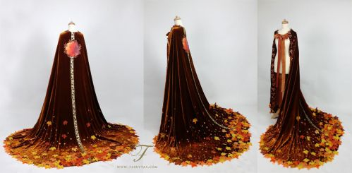 Autumn cape by Fairytas