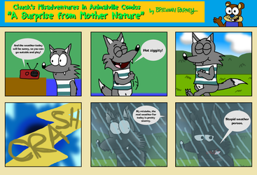 CMaiAv Comics #28: Mother Nature's Surprise by BrendanDoesArt