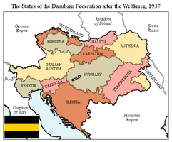 Danubian Federation by xpnck