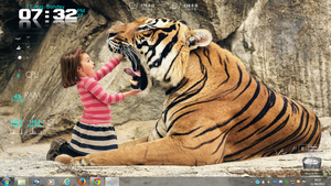 Tiger and Child Rogers1967 Rainmeter by Rogers1967