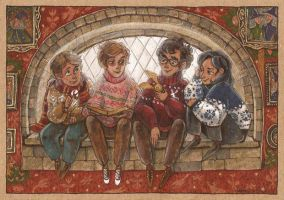 christmas in hogwarts by ThePyf