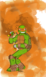 Mikey1 by sketchsanchez