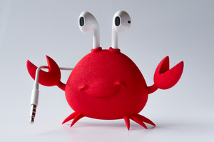 Apple Earpods Crab Holder by TimothyB