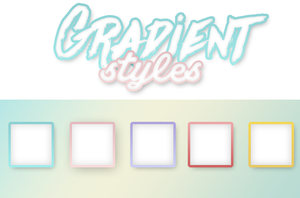+Gradient Styles by SabDesings