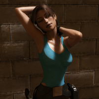 Classic Raider 109 by tombraider4ever