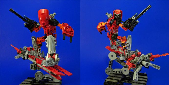Bionicle - Lava Board 2 by Lalam24