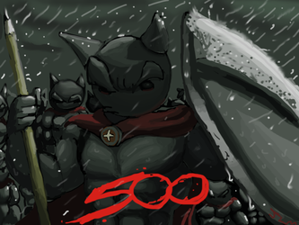 Five Hundred watchers and more by Nighteba