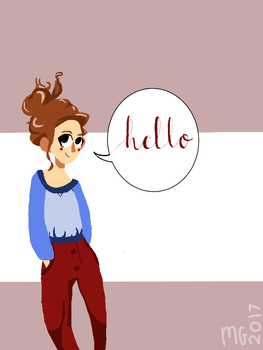Hello by Squirtgrace