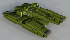 Centaur Main Battle Tank by 1Wyrmshadow1