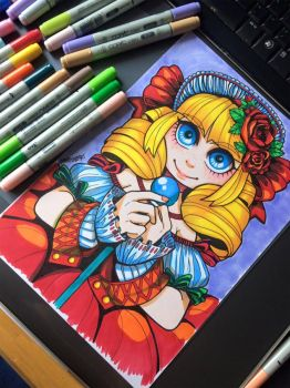 Magical Girl by Paper-Plate