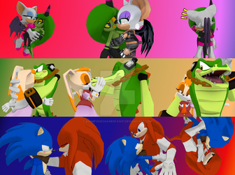 Sonic Couples-Warning!HetYaoiYuri by AnimeVideoGamesFan37